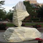 Mahatma-Gandhi-Statue-Desecrated
